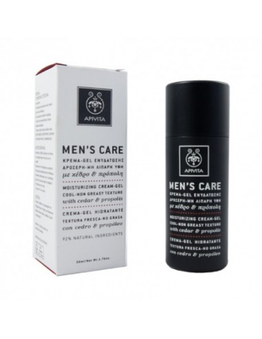 Apivita Men's Care Crema-Gel Hidratante 50ml