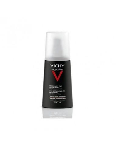 Vichy Homme Desodorante Vaporizador Ultra Fresco 100ml