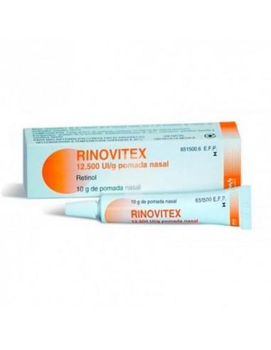 Rinovitex 12500 Ui/g Pomada Nasal 10g