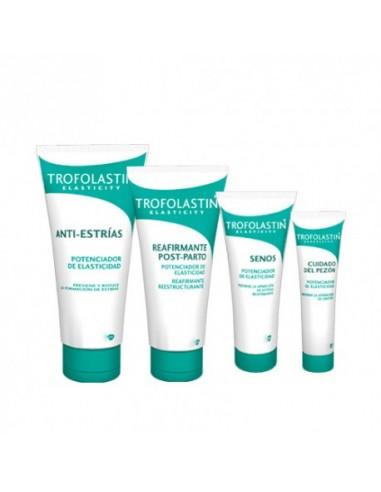Trofolastin Pack Embarazo Antiestrías + Post-Parto + Senos + Pezón