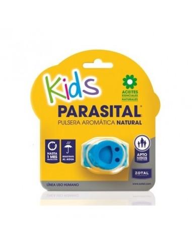 Parasital Kids Pulsera Aromática Natural Color Azul