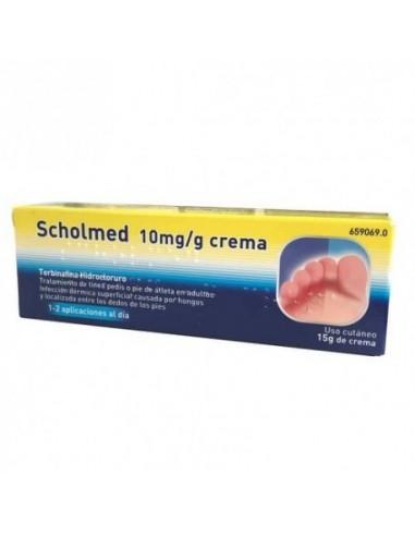 Scholmed 10 mg/g Crema 15g