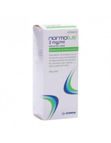 Normotus 2mg/ml Solución Oral 200ml