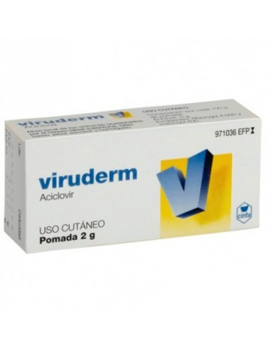Viruderm 50mg/g Pomada 2g