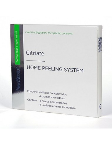 Neostrata Citriate Home Peeling System 4 discos + 4 monodosis