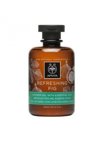 Apivita Refreshing Fig Gel de Baño con Aceites Esenciales 300ml