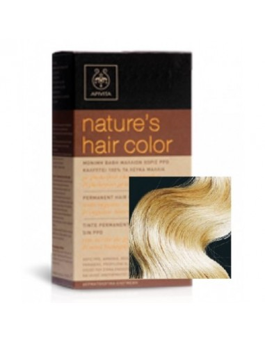 Apivita Tinte Nature's Hair Color 10.0 Rubio Muy Muy Claro