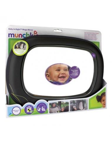 Munchkin Espejo Auto Baby In-Sight Extragrande