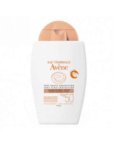 Avène Fotoprotector Fluido Mineral Pieles Sensibles SPF50+ 40ml