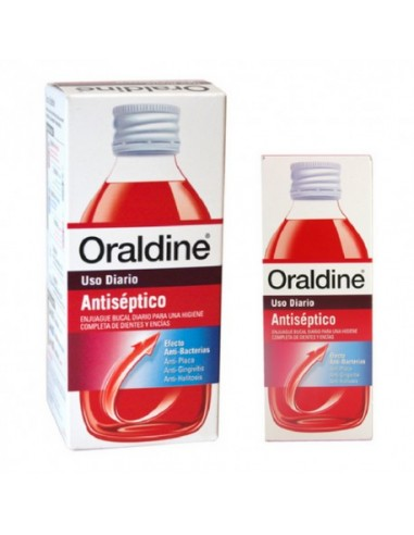 Oraldine Antiséptico 400ml+200ml