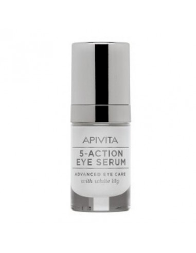 Apivita 5-Action Contorno de Ojos Natural Sérum 15ml