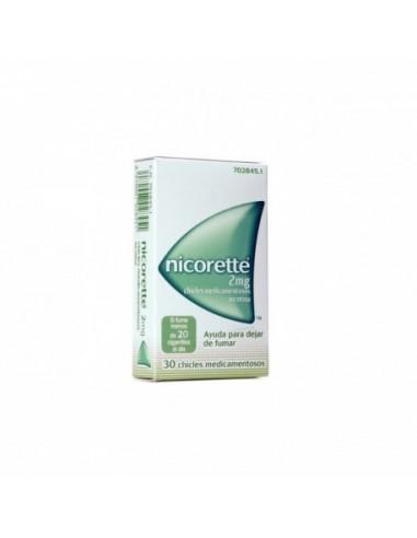 Nicorette 2mg 30 Chicles